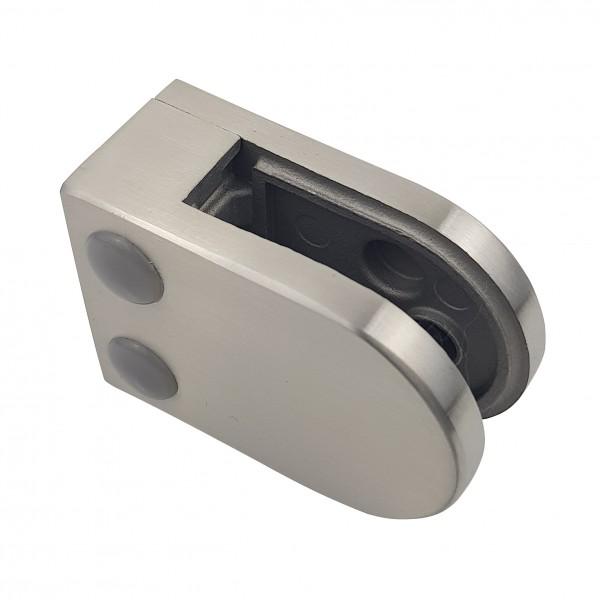 Glasklemme Modell 02 - Anschluss für Vierkantrohr