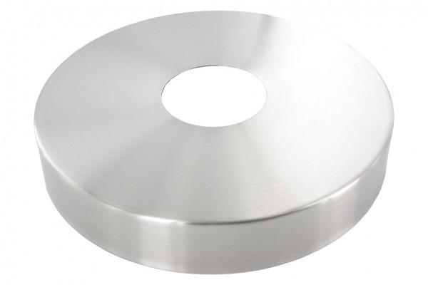 Abdeckrosette Ø 125mm, Lochung 42.7mm, H: 25mm