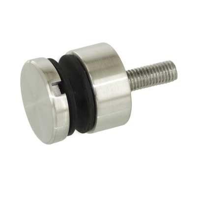 Punkthalter Ø 30mm flach, für Glasstärke 6-16mm
