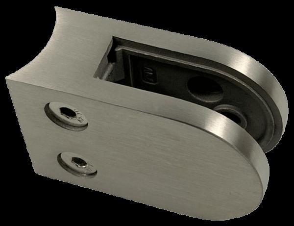 Glasklemme Modell 20 - Anschluss für Rundrohr Ø 33.7mm