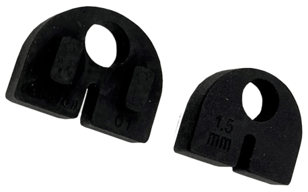 Gummieinlage Modell 20 - für 2mm Blech