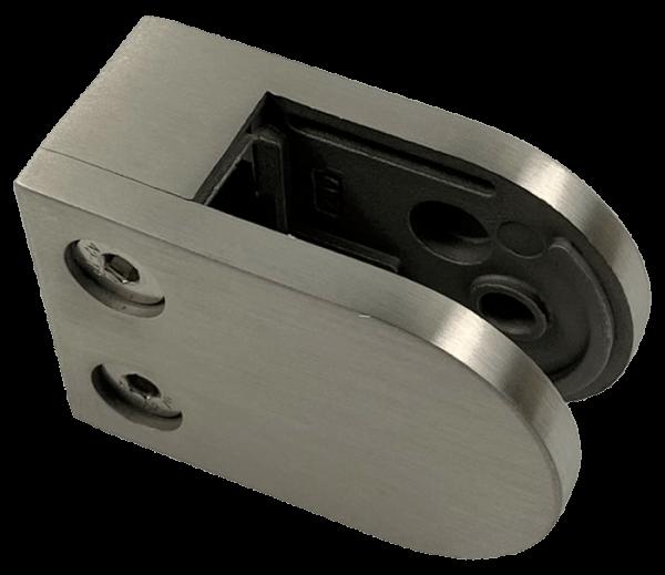 Glasklemme Modell 25 - Anschluss für Vierkantrohr