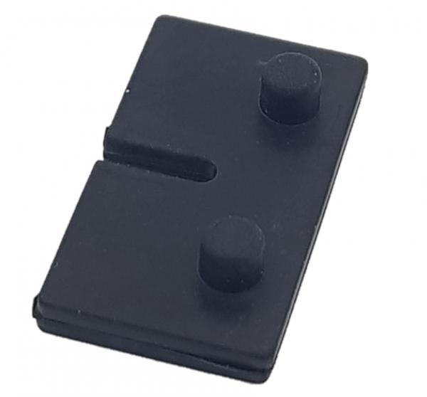 Gummieinlage Modell 01 - für 10.76mm Glasstärke-Z