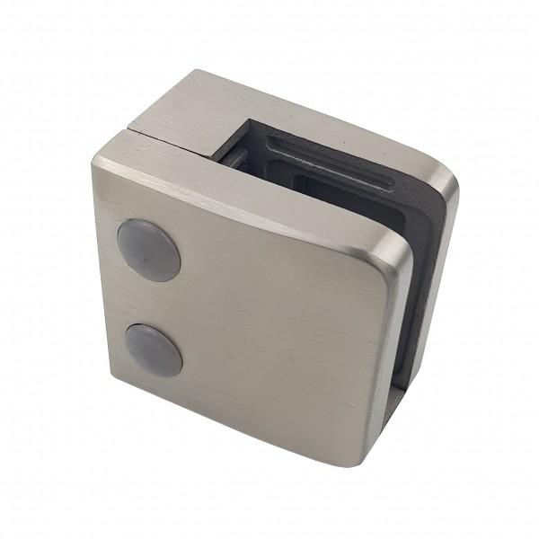 Glasklemme Modell 06 - Anschluss für Vierkantrohr